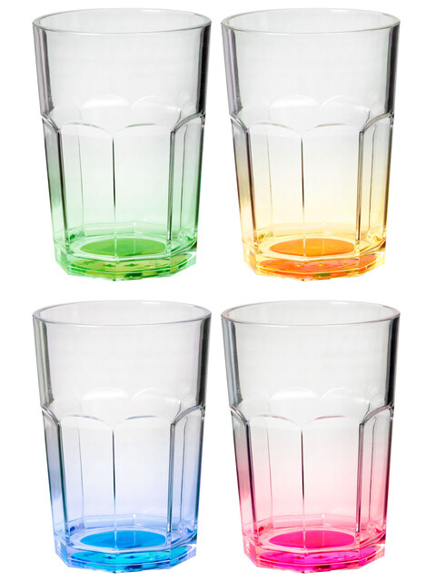 Brunner Octoglass Color Trinkglass Set